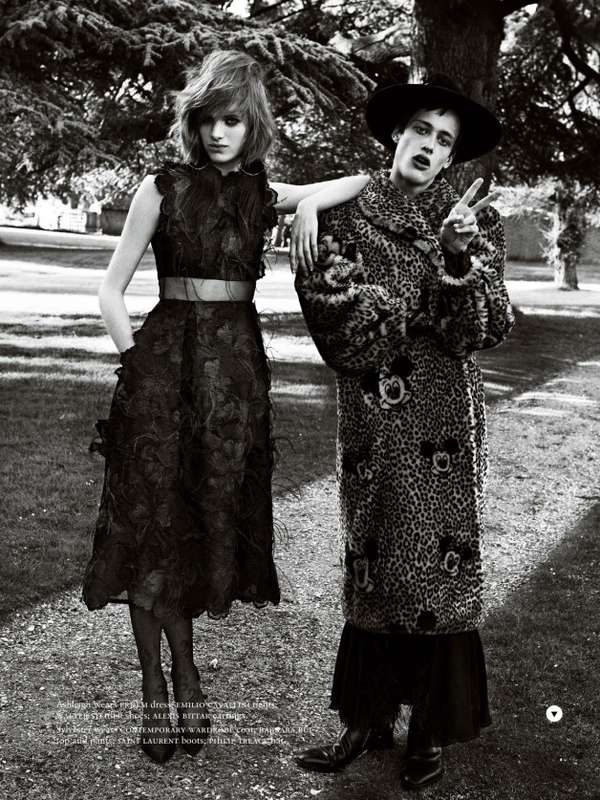 Androgynous Duo Editorials