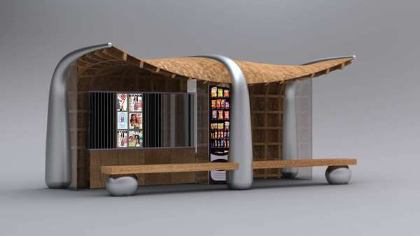 Bookworm Bus Shelters