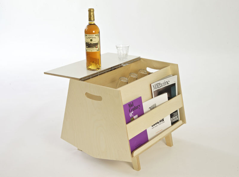 Bar-Embedded Coffee Tables