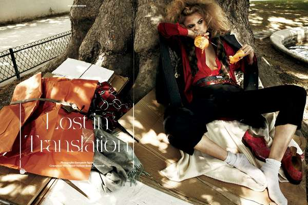Squatter Fashion Editorials
