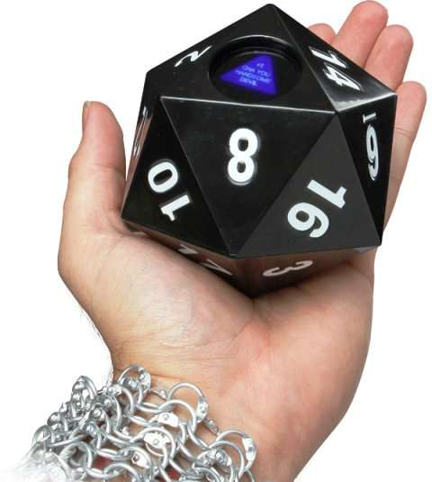 Geeky Magic Eight Balls