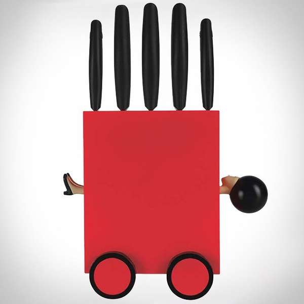 Magician Trick Knife Sets