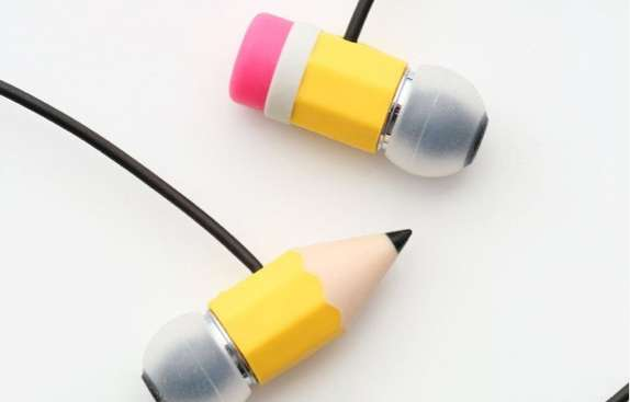 Writing Implement Earpieces