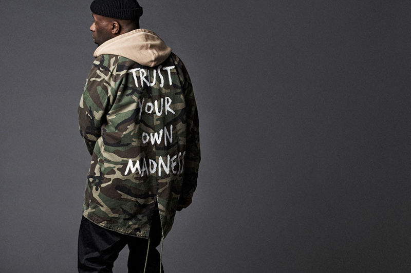 Grungy Military Streetwear