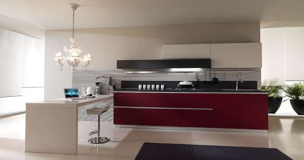 Minimalist Contemporary Kitchens