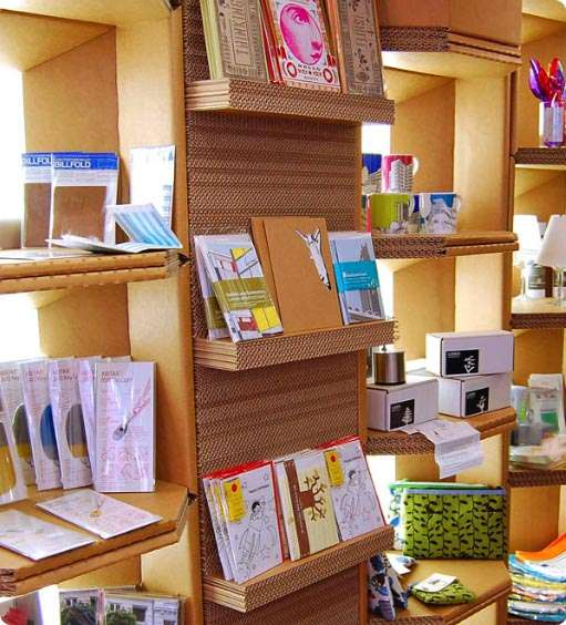 Cardboard Shelving