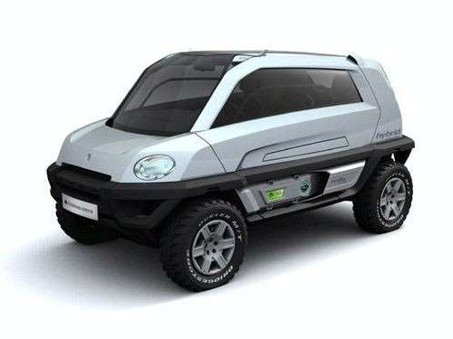 Off Road Concept Car In Geneva