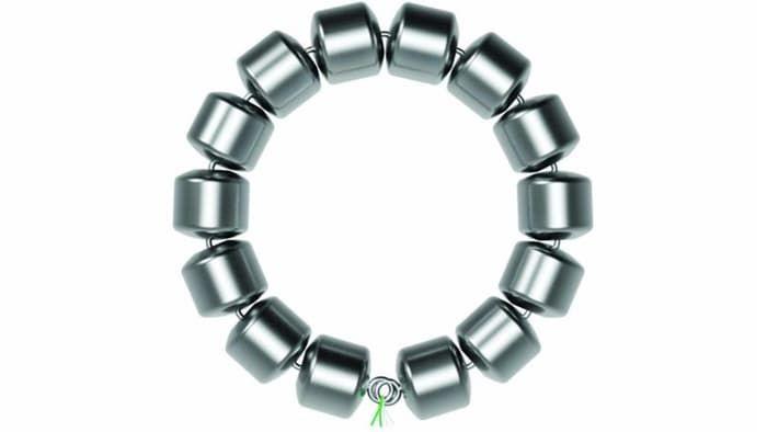 Bowel-Bolstering Beads