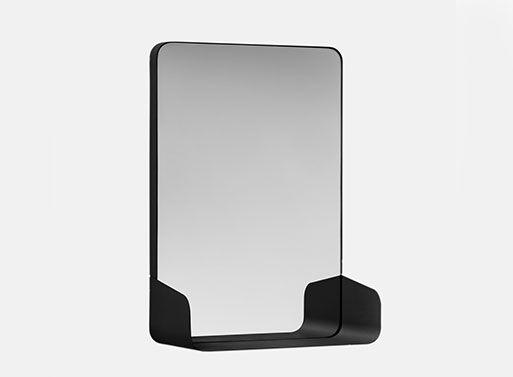 Magnetic Mirror Shelves