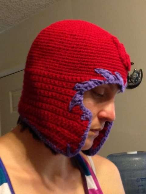 Metal-Controlling Winter Headgear