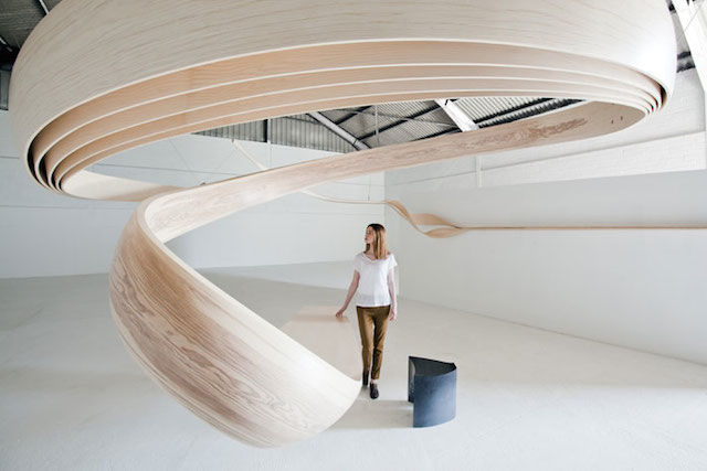 Majestically Swirling Desks