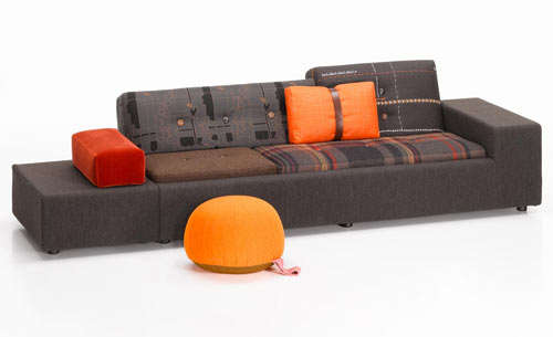 Eclectic Couch Upholstery