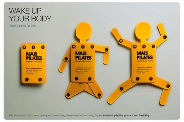Mais Pilates Business Cards