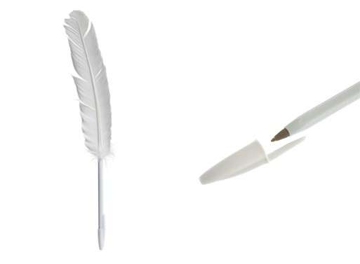 Maison Martin Margiela Feather Pen