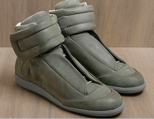 Futuristic High-Top Kicks