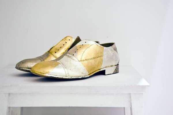 Luminous Luxury Shoes