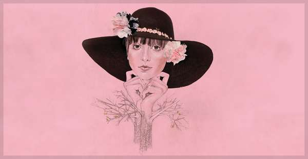 Collaged Fashion Etchings