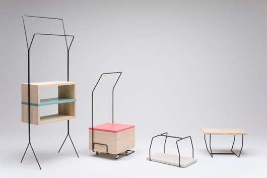 Modern Wiry Furniture