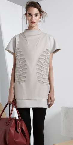 Cropped Structural Fashions