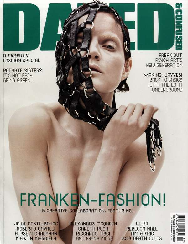 Franken-Fashion Editorials