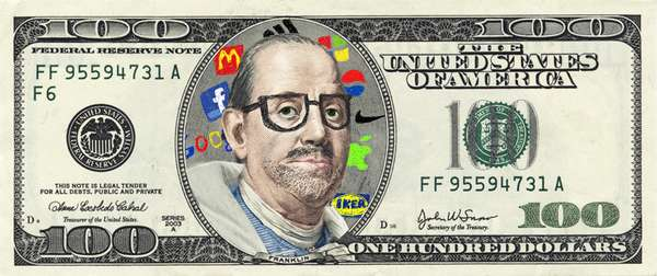 Hipster Pop Art Currency
