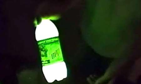 Make Your Own Glowing Mountain Dew