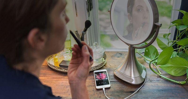 Multimedia Makeup Mirrors