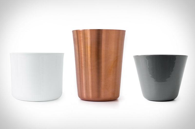 Minimalist Metal Cups
