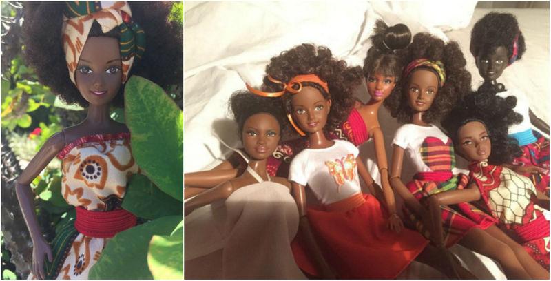 Diverse Model-Made Dolls