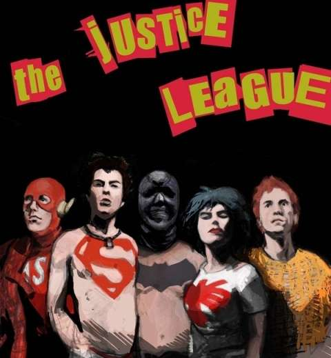 Malcolm McLaren Justice League