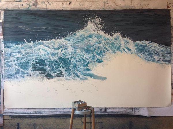 Photorealistic Ocean Artwork
