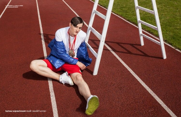 Edgy Olympian Editorials