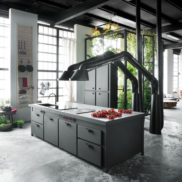 Robotic-Looking Kitchen Hoods