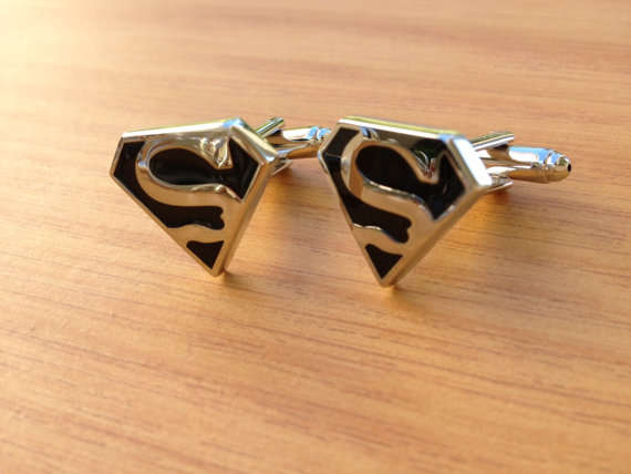 Superhero-Inspired Cufflinks