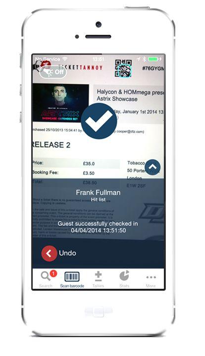 Ticket-Scanning Apps