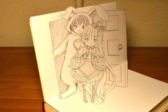 Pop-Up Manga Comics