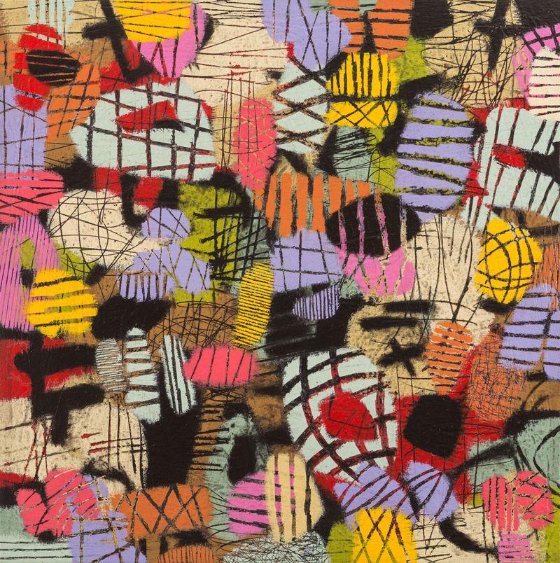 Abstract Metropolis Paintings