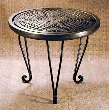 Manhole Cover Furniture