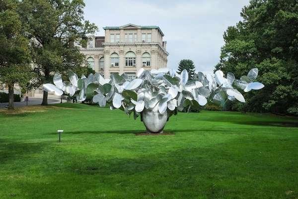 Swirling Head Sculptures