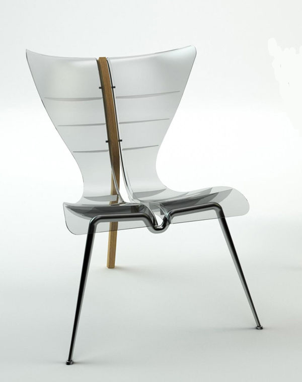 Transparent Fluid Seating