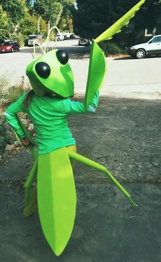 Homemade Mantis Costumes