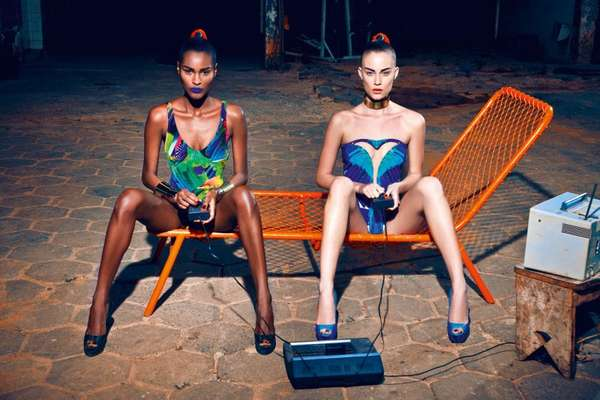 Exotically Industrial Editorials