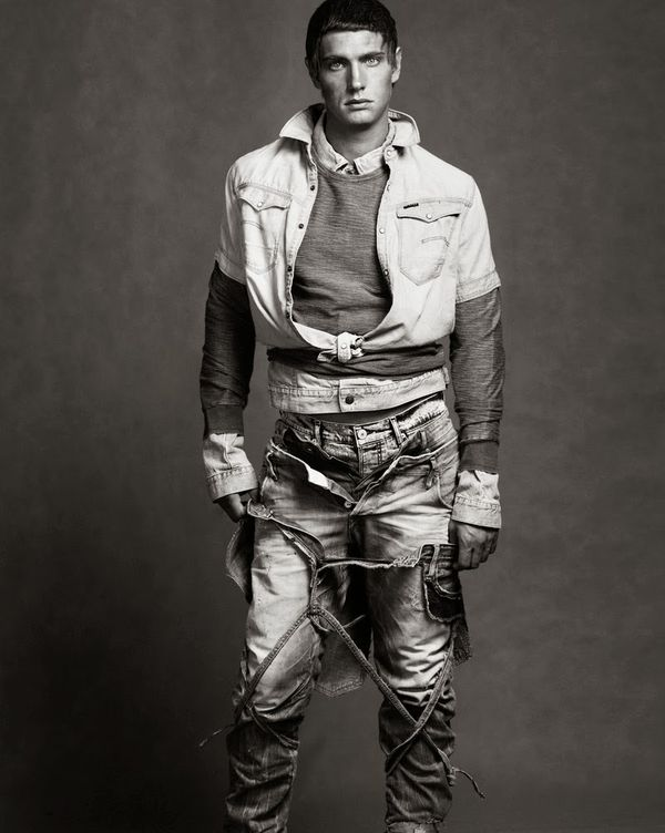Avant-Garde Denim Editorials