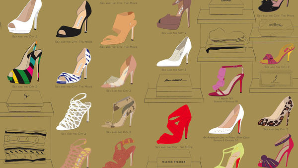 Many Shoes of Carrie Bradshaw