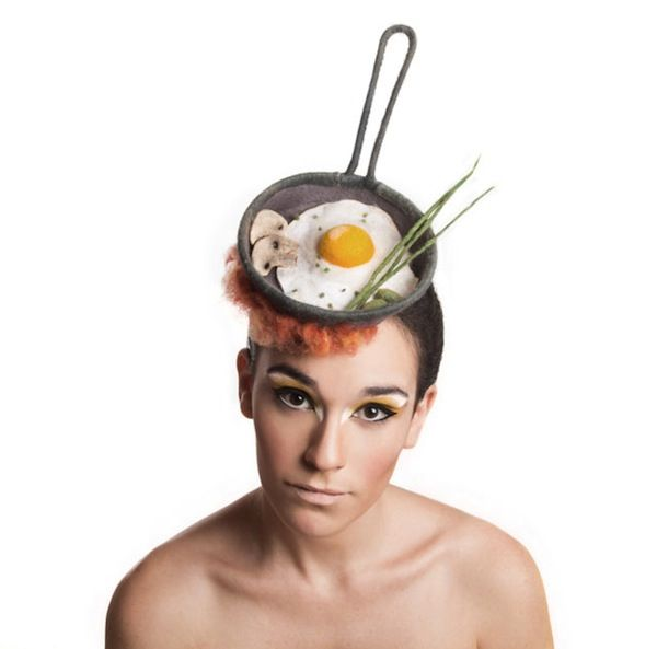 Flamboyant Food Fascinators