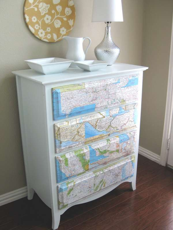 map dresser design home color