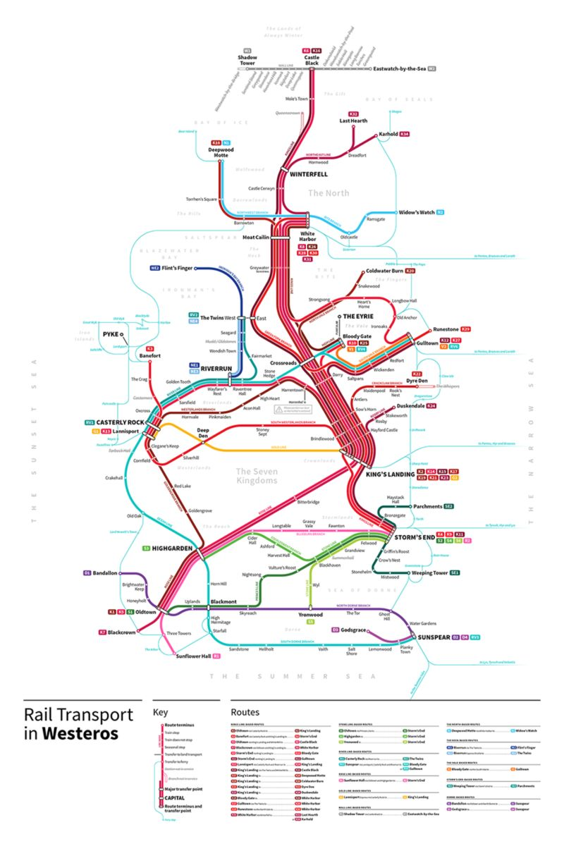 Medieval Subway Maps