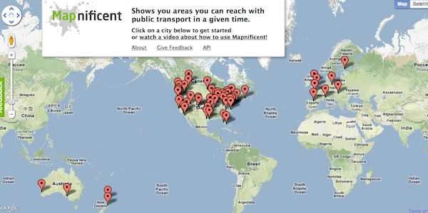 Mapnificent App