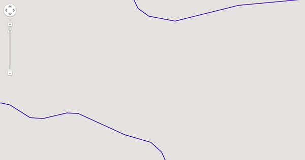 Re-Interpreted Google Map Artworks