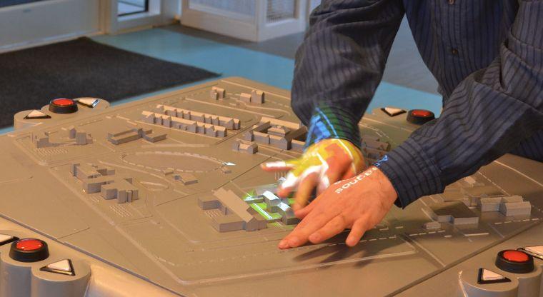 Blind-Directing Multi-Sensory Maps